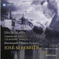 Jose Serebrıer - Dvorak: Symphony No.2 & 3