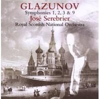 Jose Serebrıer - Glazunov: Symphony No.1,2,
