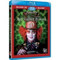 Alice İn Wonderland (Alis Harikalar Diyarında) (3D Blu-Ray Disc)