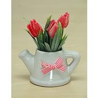 Kitchen Love Dekoratif Saksıda Çiçek