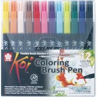 Sakura Koı Colour Fırça Uçlu Kalem 12'Li Set Bxbr-12