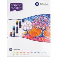 Derwent Academy Yağlı Pastel Boya 36 Renk