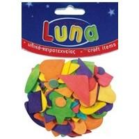 Luna Ahşap Karışık Renli Şekiller 9Mm 80Li Lna0601691