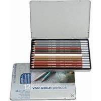 Talens Van Gogh Sketch Set Special Sanguine Kalemi Metal Set 12'Li