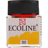 Talens Ecoline Jar 30Ml. Deep Yellow 202 Rt11252020