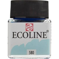 Talens Ecoline Jar 30Ml. Past. Blue 580 Rt11255800
