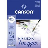 Canson Imagine Çok Amaçlı Blok 200 Gr. 50 Sayfa A5