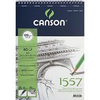 Canson 1557 Resim Ve Çizim Blok 120Gr A3 40Yp Üstten Spiralli C120a340us