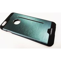 Motomo Apple İphone 6 Plus / 6 Plus S Motomo Standlı Lacivert Metal Kılıf