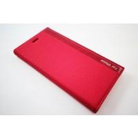 Zore Apple İphone 6 Plus / 6 Plus S Zore Kırmızı Deri Kapaklı Kılıf