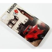 Mobillife Apple İphone 4/4S London Car Silikon Kılıf