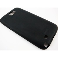Mobillife Samsung Galaxy Note 2 Spada Siyah Silikon Kılıf