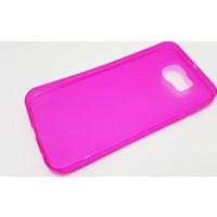 Mobillife Samsung Galaxy S7 Edge Şeffaf Pembe Silikon Kılıf