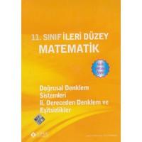 Sonuç Yayınları 11. Sınıf İleri Düzey Matematik Doğrusal Denklem Sistemleri 2. Dereceden Denklem Ve Eşitsizlikler
