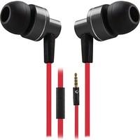 Snopy Rampage Phoenix Mobil Telefon Uyumlu Kulak İçi Siyah/Kırmızı Mikrofonlu Kulaklık