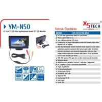 "X5 Tech Ym-N50 (L403C) 5"" Led Arka Aydınlatmalı"