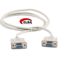 Elba C50383 Rs232 Dişi To Dişi Kablo