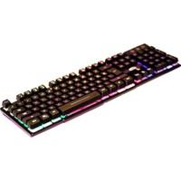 Elba Ek-258 Q Usb Siyah 3 Renk Led Gamer Klavye
