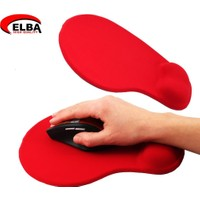 Elba K06152 Bileklikli Jel Mouse Pad Kırmızı