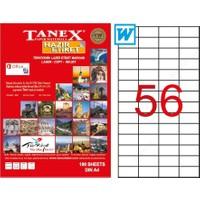 Tanex Tw-2321 52.5 Mm X 21.2 Mm 100 Sayfa Lazer