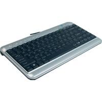 A4 Tech Kl-5Up Q Usb Tr Gümüş Siyah Mini Klavye