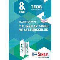 Sınav Dergisi Yayınları 8.Sınıf Akordiyon Serisi T.C İnkılap Tarihi Ve Atatürkçülük Aç Konu Katla Soru