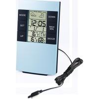 TT-Technic H146AB Termometre Nem Ölçer Saat Alarm