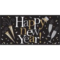 Kullanatmarket Happy New Year Parti Afişi -1 Adet