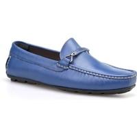 Cabani Makosen Günlük Erkek Ayakkabı Mavi Deri