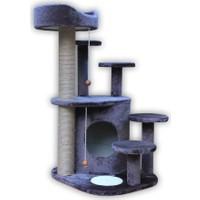 Agira Alexander Çok Katlı Yuvalı Kedi Tırmalama Ve Oyun Alanı 94 Cm