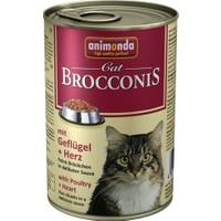 Animonda Brocconis Kümes Hayvanli Yürekli Yetişkin Kedi Konservesi 400 Gr