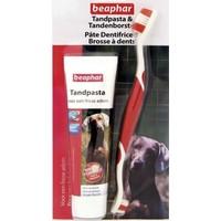 Beaphar Köpek Diş Macunu Diş Fırçası Seti 100 Gr