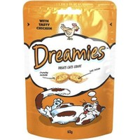 Dreamies İçi Dolgulu Tavuklu Kitir Kedi Ödülü 60 Gr