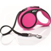 Flexi New Comfort 5M Şerit L Otomatik Köpek Gezdirme Tasması Pembe