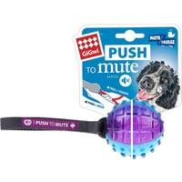 Gigwi Push To Mute Gülle Ses Kontrollü Köpek Oyuncağı