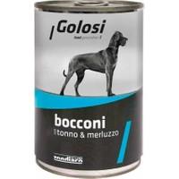 Golosi Bacconi Ton Ve Morina Balıkli Köpek Konservesi 400 Gr