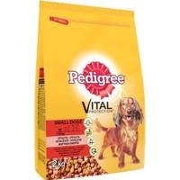 Pedigree Biftekli Sebzeli Küçük Irk Yetişkin Köpek Maması 2 Kg