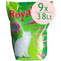 Royal Cat Natural Tozsuz Silika Kedi Kumu 3,8 Lt - 1,4 Kg (9 Adet)