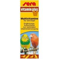 Sera Vitamin Plus V Kuşlar İçin Multivitamin Damlası 15 Ml