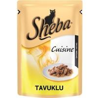 Sheba Cuisine Tavuklu Konserve Kedi Maması 85 Gr
