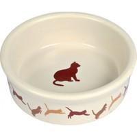 Trixie Kedi Porselen Mama - Su Kabı 0,25Lt - 11Cm