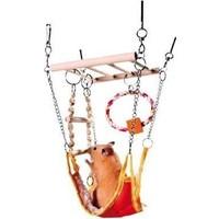 Trixie Hamster Hamakli Asma Köprü, 17X22X15Cm