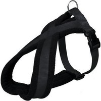 Trixie Soft Ayarlanabilir Köpek Göğüs Tasması M-L 50-80 Cm 25 Mm (Siyah)