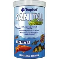 Tropical Sanital Aloe Vera Katkılı Tedavi Edici Akvaryum Tuzu 1000 Ml
