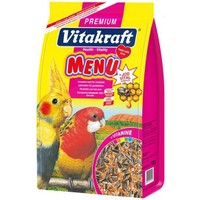 Vitakraft Premium Menü Vital Ballı Paraket Yemi 1000 Gr