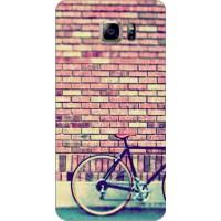 Bordo Samsung Galaxy Note 7 Kapak Kılıf Baskılı Silikon