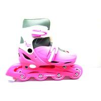 Pembe Kız Can Sport Plastik Ayarlanabilir Paten (35-38)-(39-42)