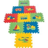 Pilsan Eğitici Polietilen Oyun Matı -Taşıtlar