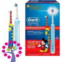 Oral-B Şarj Edilebilir Diş Fırçası PC 500+ Kids Mickey Mouse