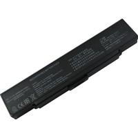 Retro Sony Vaio Vgp-Bps9, Vgp-Bps10 Notebook Bataryası - Siyah